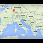 Karte Erismann Papiers Peints S.à.r.l.