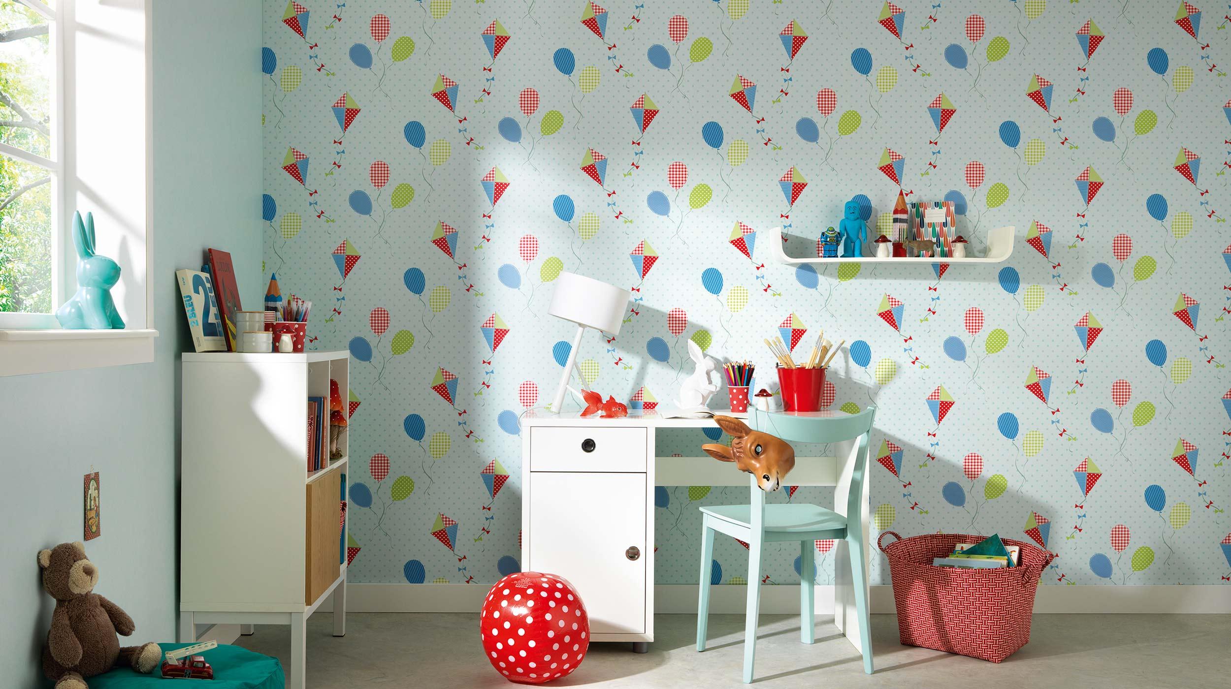 Стены в детской фото
