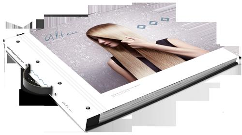 Tapeten-Musterbuch der Kollektion ALTEA