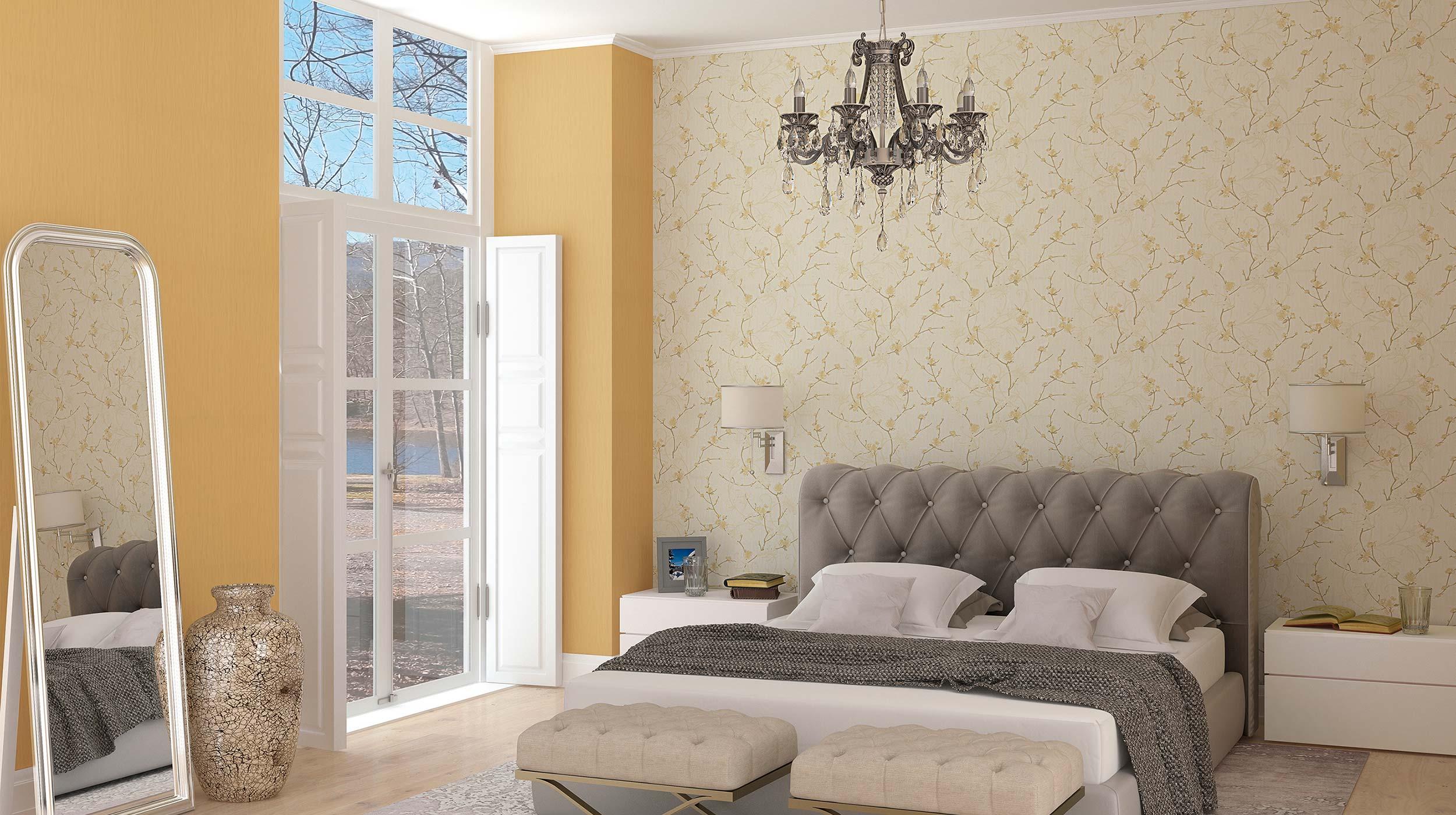 tapeten wohnzimmer gold : Eleganza Erismann Cie Gmbh