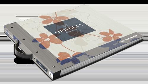 Tapeten Musterbuch der Kollektion Ophelia