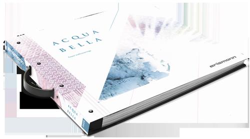 Tapetenmusterbuch der Kollektion Acquabella