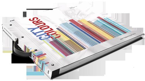 Tapetenmusterbuch der Kollektion City Colours