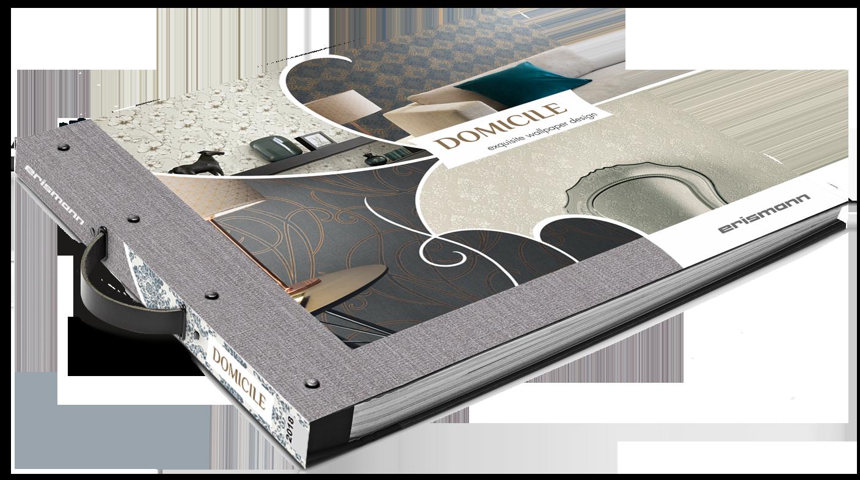 Tapetenmusterbuch der Kollektion Domicile