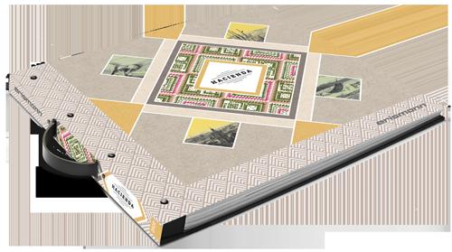 Tapetenmusterbuch der Kollektion Hacienda