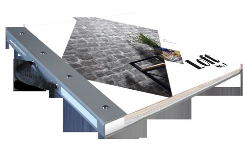 Tapetenmusterbuch der Kollektion Loft No. 1