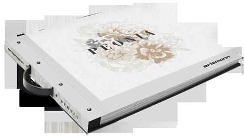 Tapetenmusterbuch der Kollektion Peonia
