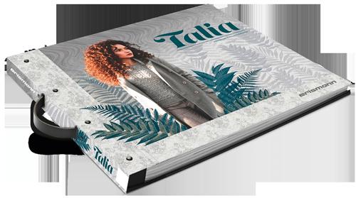 Tapetenkollektion Musterbuch Talia