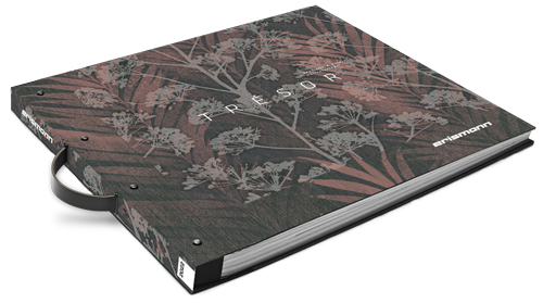 Tapetenkollektion Musterbuch Trésor