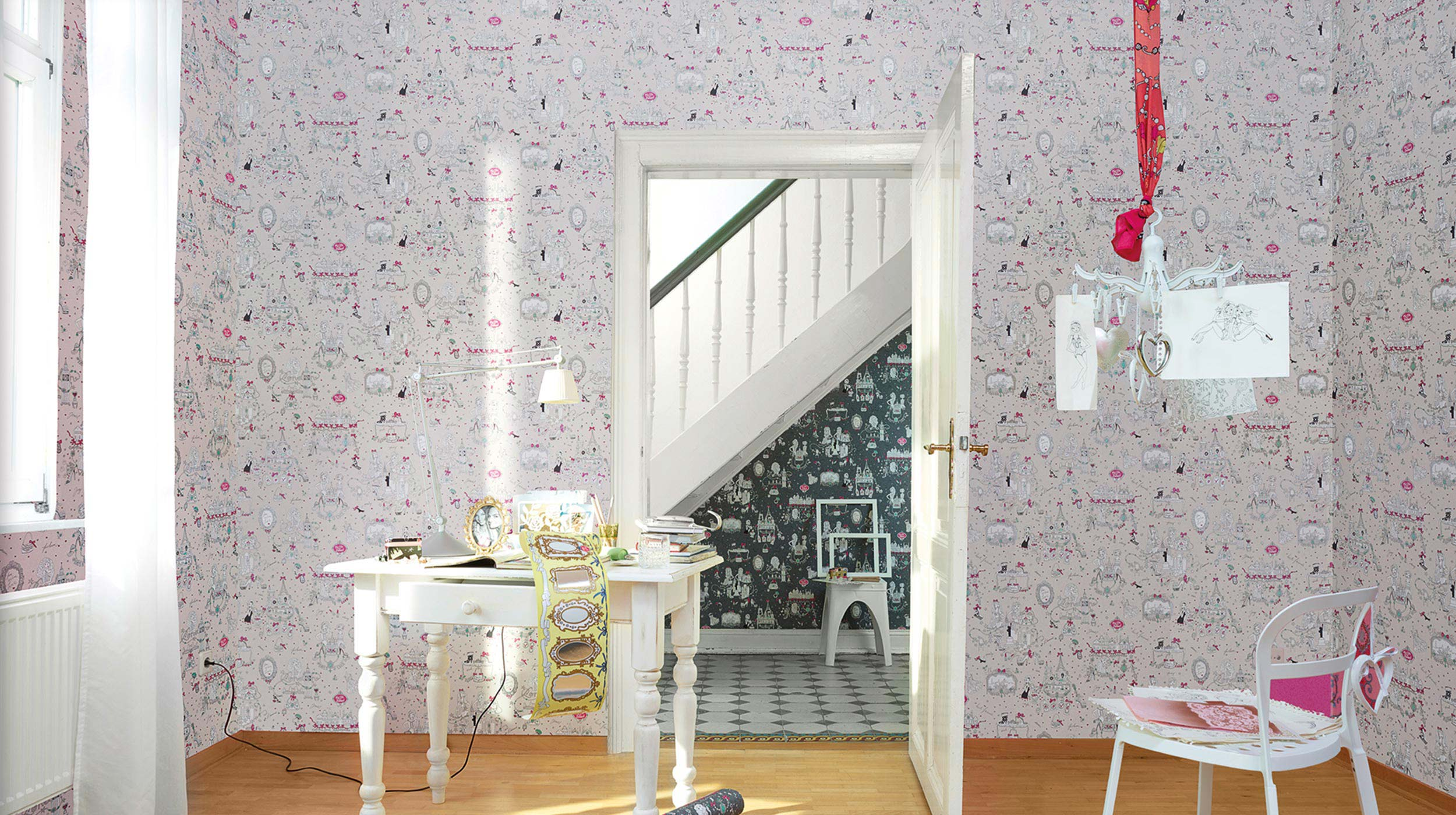 my life is sweet design tapete modern 4 jpg erismann cie gmbh. Black Bedroom Furniture Sets. Home Design Ideas