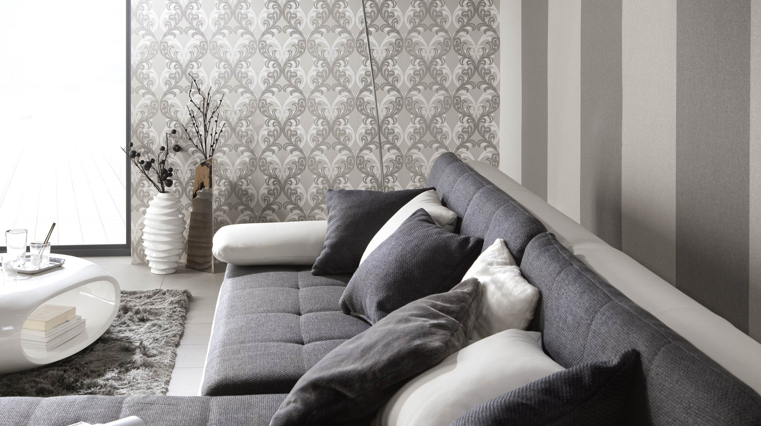 pure elegance tapeten vlies 2014 3 jpg erismann cie gmbh. Black Bedroom Furniture Sets. Home Design Ideas