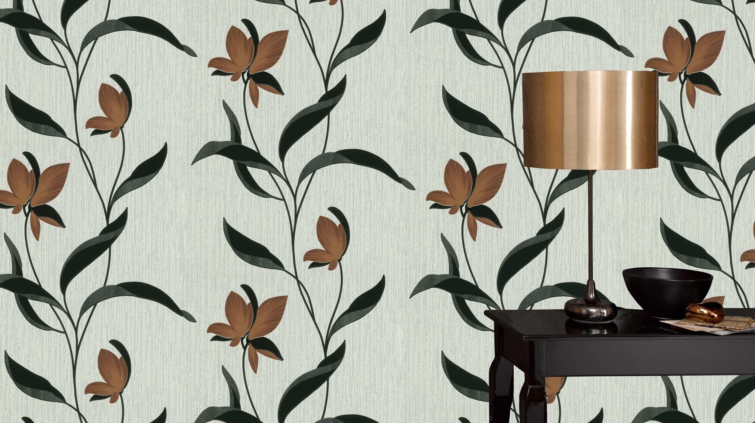 tapete fleur online erismann cie gmbh. Black Bedroom Furniture Sets. Home Design Ideas
