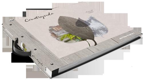 Musterbuch der Kollektion Countryside