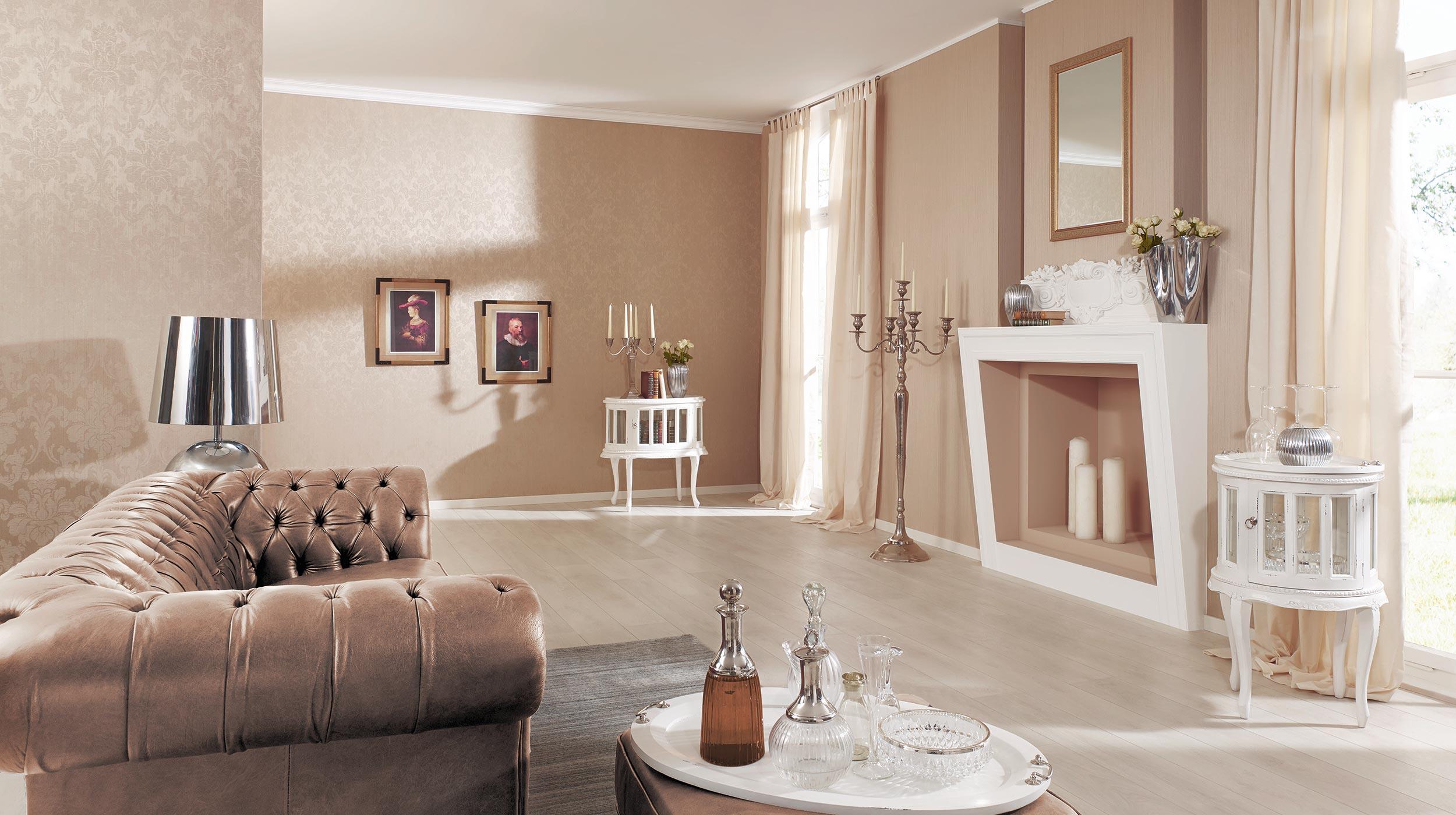 exklusive textiltapete elysion erismann erismann. Black Bedroom Furniture Sets. Home Design Ideas