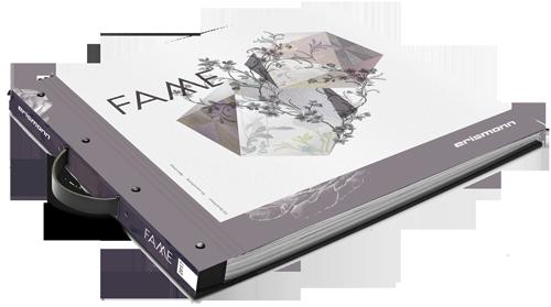 Tapeten-Musterbuch der Kollekion FAME