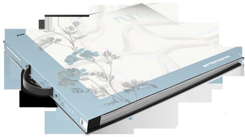 Musterbuch der Tapetenkollektion Filino