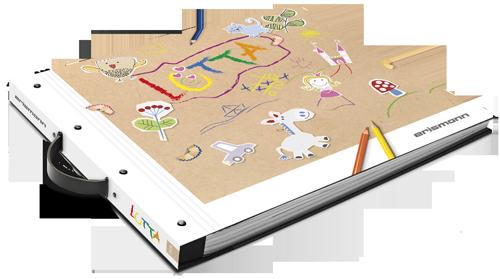 Tapeten-Musterbuch Kindertapeten Lotta