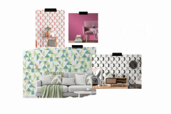 Tapetentrends 2021 - Statement Walls