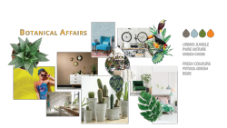 Tapetentrends 2018 Botanical Affairs - Collage