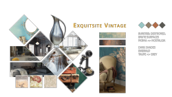 Tapetentrends 2018 Exquisite Vintage - Collage