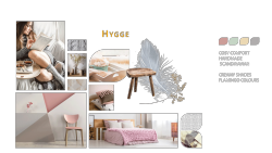Tapetentrends 2018 Hygge - Collage