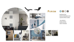Tapetentrends 2018 Purism - Collage
