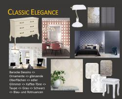 Collage Wohntrend 2017 Classic Elegance