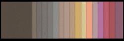 Farbpalette Trendfarben 2016 Etno-Look
