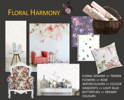 Interior trends 2017 floral harmony