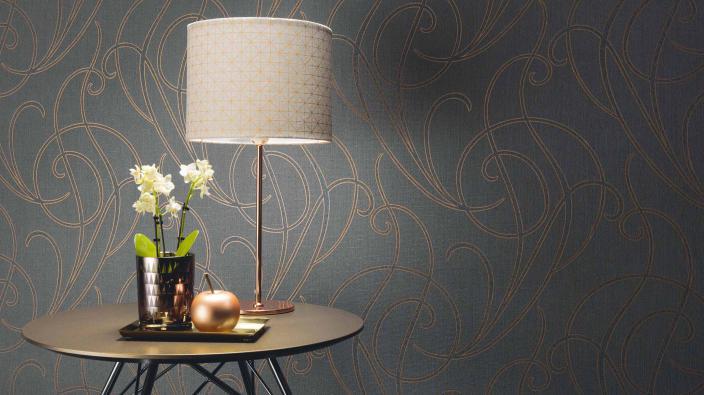 Wandgestaltung mit Vliestapeten