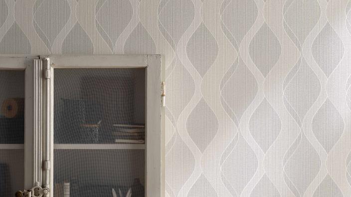 Wandgestaltung mit Vliestapeten Wohnraum