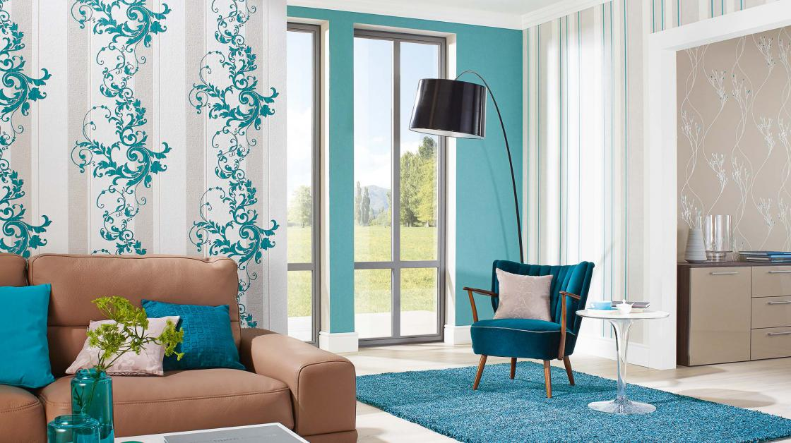 Wohnzimmer Grün Grau: Neutrales farbschema stilvolle dekoration zu ...