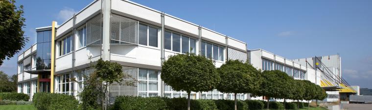 Firmengebäude der Erismann GmbH in Breisach Aussenansicht