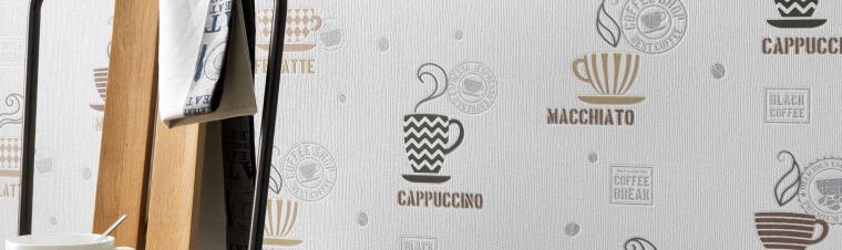 Küchentapete kaffeemotive