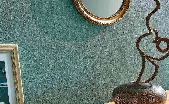 Оформление стен с помощью эксклюзивных обоев из нетканого материала из коллекции Arcano