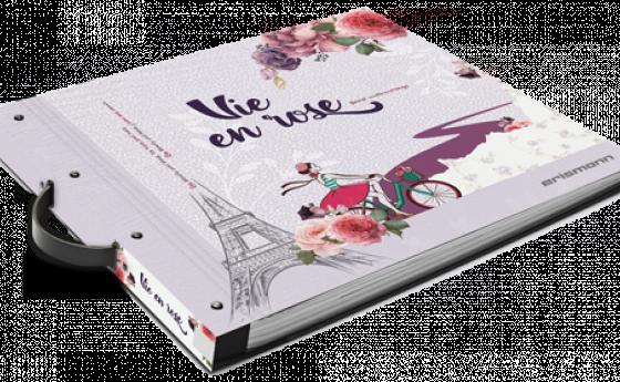 Tapetenmusterbuch der Kollektion Vie en rose