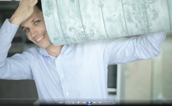 Startbild des Unternehmensfilm Erismann