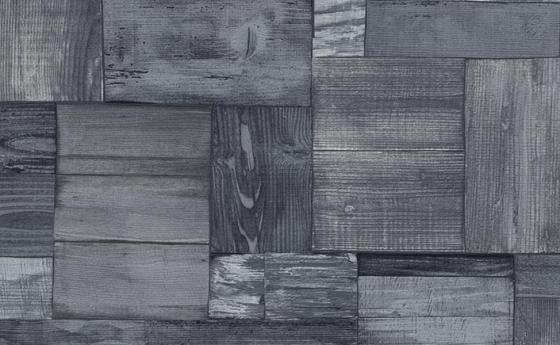 Moderne Vliestapete in Holzoptik