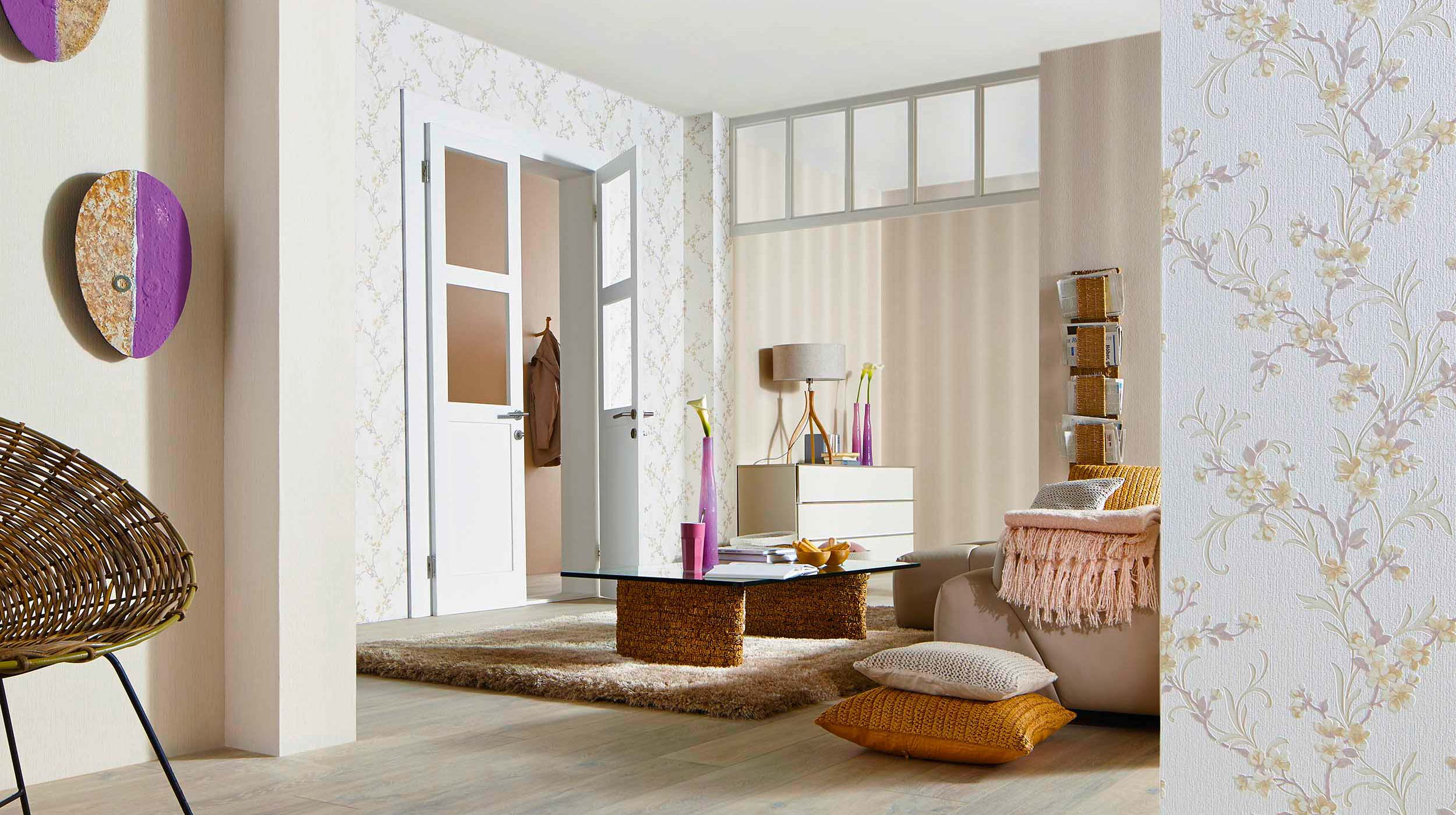 aktuelle trend-kollektion fame | erismann & cie. gmbh - Wohnzimmer Tapeten 2015