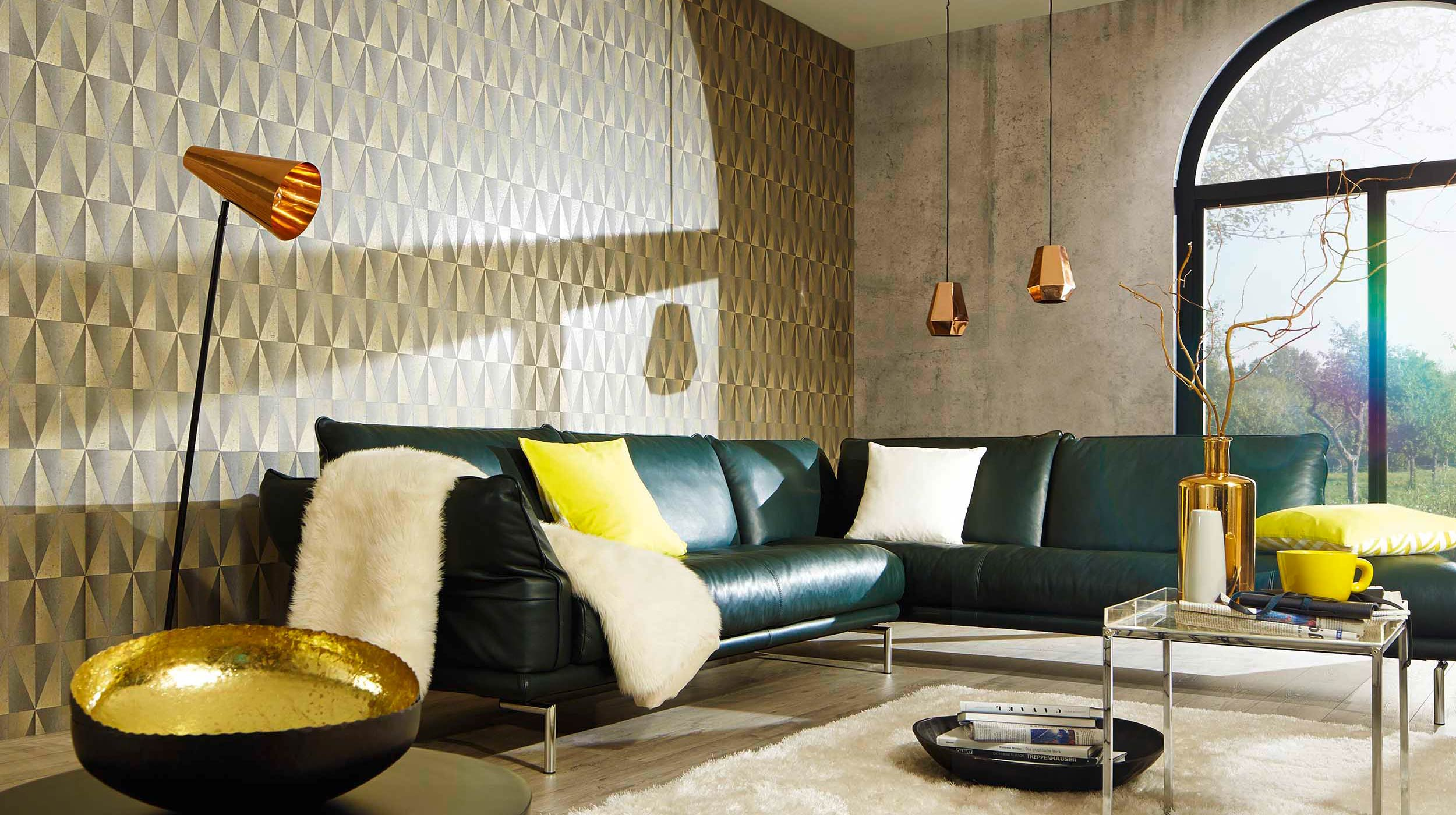 Aktuelle trend kollektion fame erismann cie gmbh for Aktuelle wohnzimmer trends